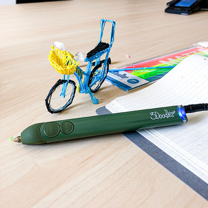 Getting Creative With the 3Doodler Create+ & GIVEAWAY