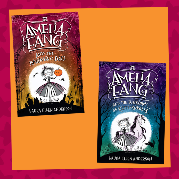 Amelia Fang: Interview With Author Laura Ellen Anderson + GIVEAWAY!