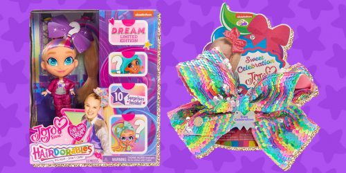 D.R.E.A.M. Big with JoJo Siwa Hairdorables + GIVEAWAY