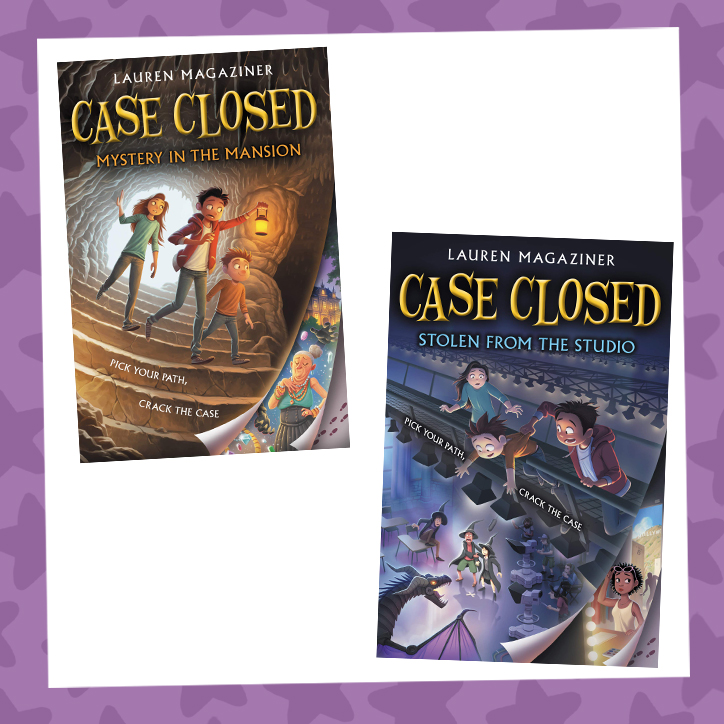 Pick Your Path and Crack the Case with our Case Closed GIVEAWAY