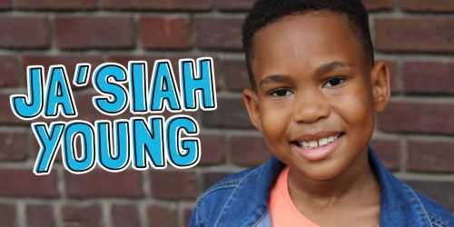 Ja'Siah Young on Raising Dion and the Superheroes Who Inspire Him