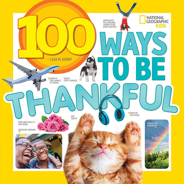 100 Ways to Be Thankful + GIVEAWAY!