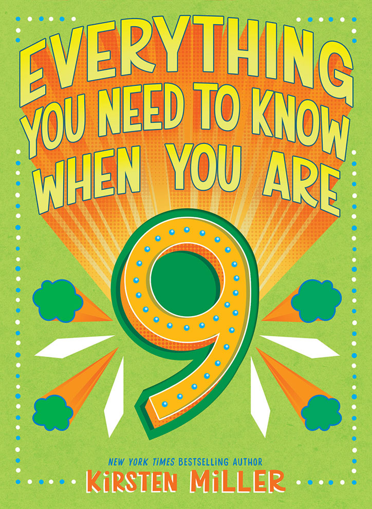 COVER REVEAL: Everything You Need to Know When You Are 8