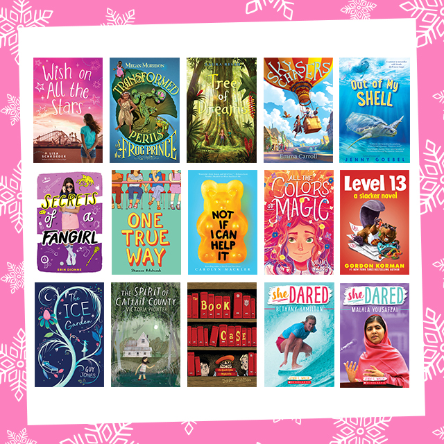 Holly Jolly Giveaway: Scholastic Book Stash