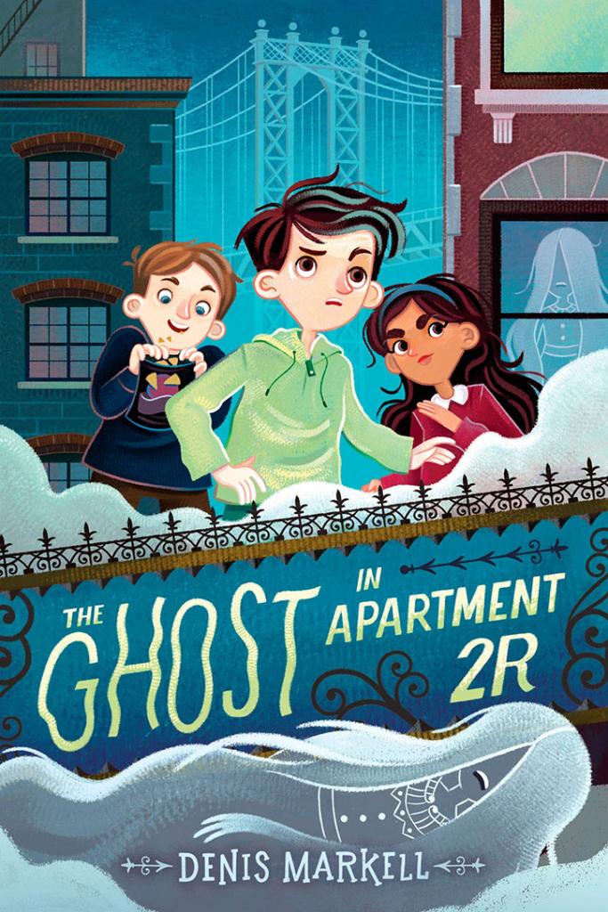 The Ghost in Apartment 2R: Interview with Author Denis Markell