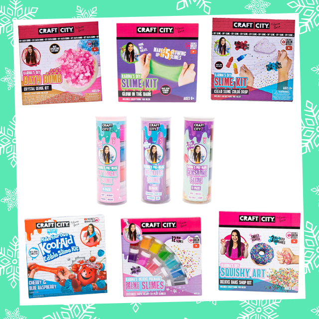 Holly Jolly Giveaway: Craft City Slime Haul