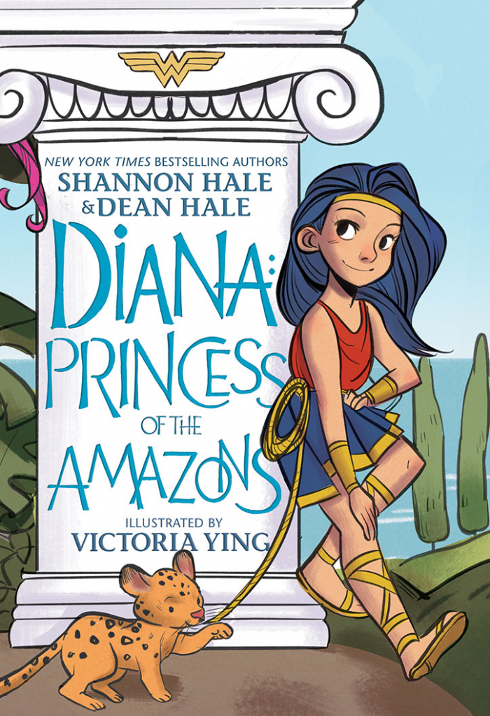 Visit the Paradise Islands in this EXCLUSIVE Diana: Princess of the Amazons Minicomic
