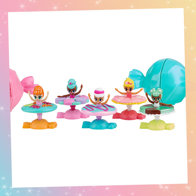 Prima Sugarinas are the Cutest Candy Scented Ballerinas