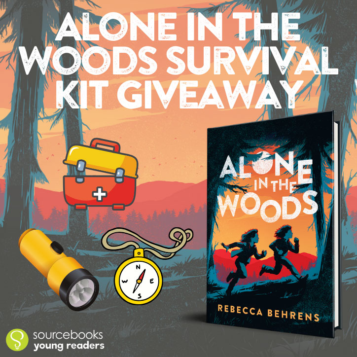 Alone in the Woods: Start Reading This Thrilling Survival Story + GIVEAWAY!
