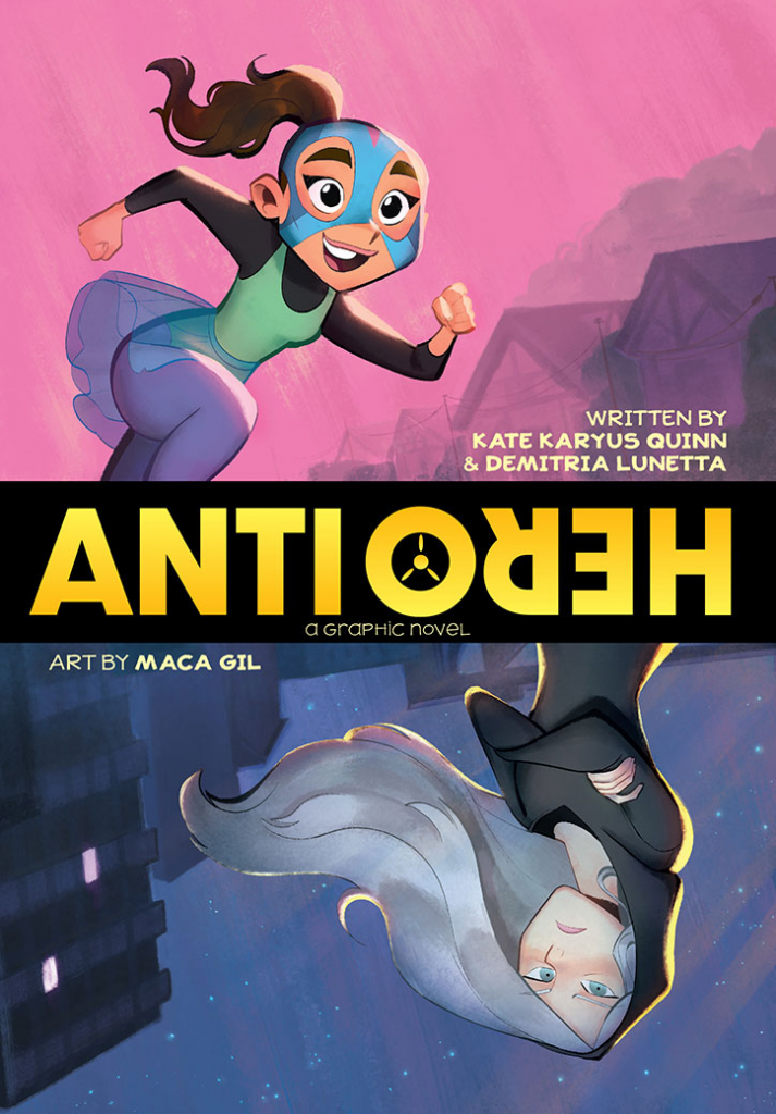 Cover of ANTI/HERO from DC Kids