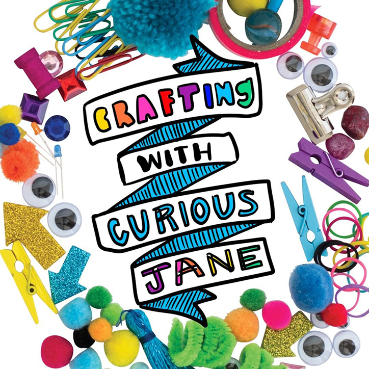 Crafting with Curious Jane Logo