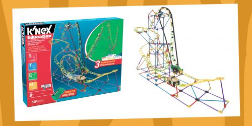 Soar to New Heights With Our K'NEX STEM Explorations Roller Coaster GIVEAWAY