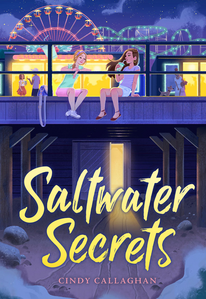 Saltwater Secrets Book Cover
