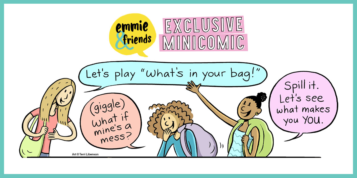 Backpack Haul: An EXCLUSIVE Emmie & Friends Minicomic