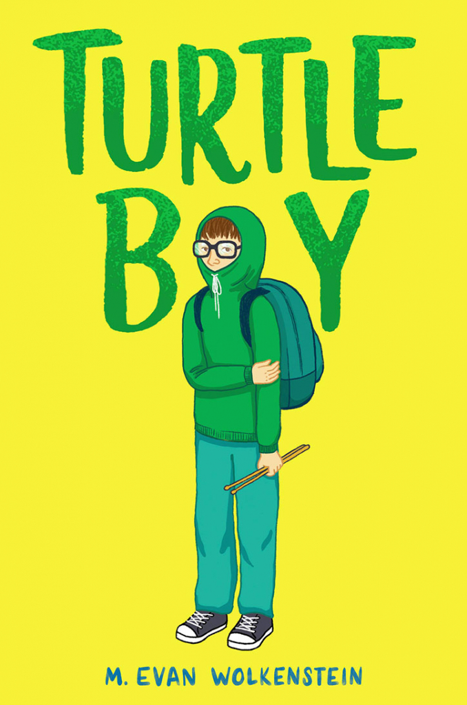 Turtle Boy Book Cover