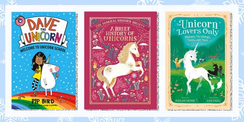 Holly Jolly Giveaway: Macmillan Unicorn Book Stash