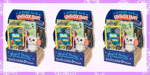 Holly Jolly Giveaway: OwlCrate Jr. Subscription Box