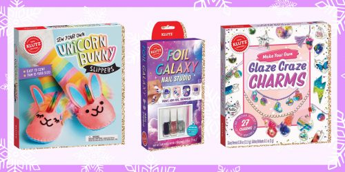 Holly Jolly Giveaway: Klutz Kit Haul