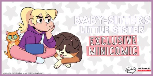Karen's Worst Day: EXCLUSIVE Baby-sitters Little Sister Minicomic