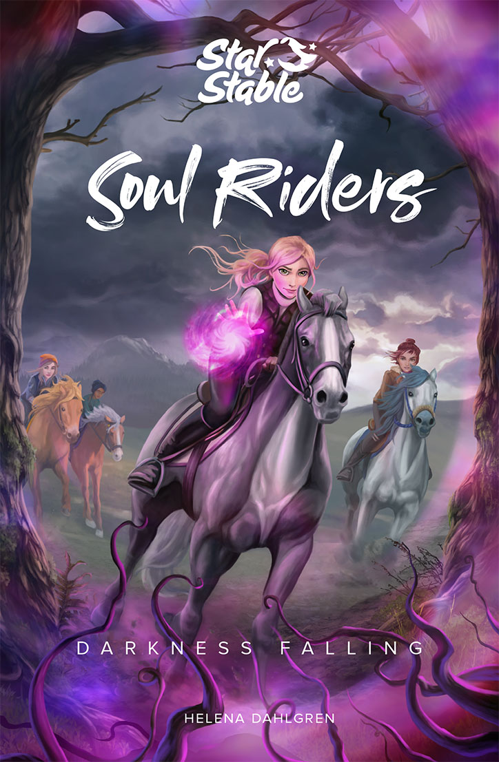 Soul Riders: Darkness Falling Book Cover
