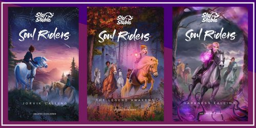 Saddle Up for a Wild Read With Our Star Stable: Soul Riders GIVEAWAY!