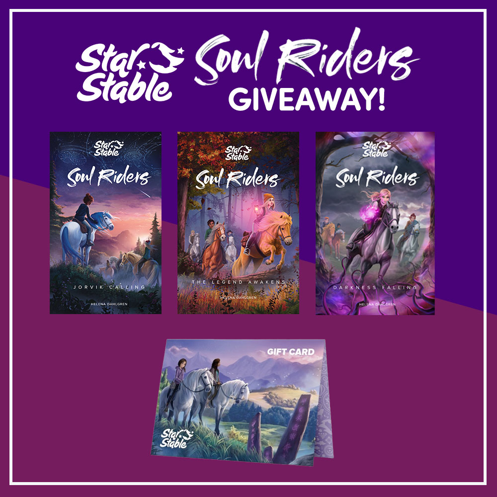 Soul Riders Giveaway Image