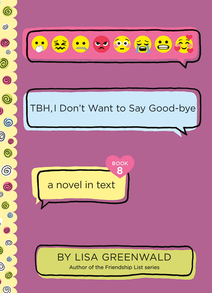TBH, I Don't Want to Say Good-bye Book Cover
