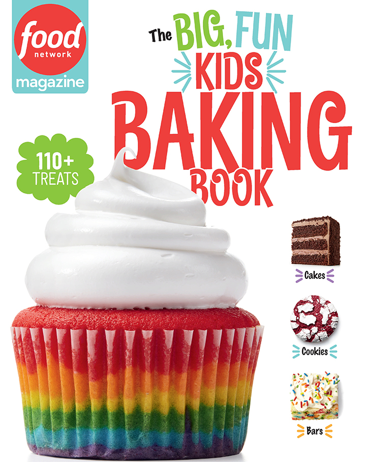 Cover of Food Network Magazine: The Big, Fun, Kids Baking Book