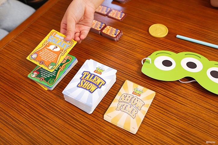 Product Photo of Disney Pixar Toy Story Talent Show Game from Funko Games