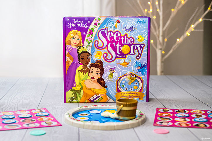 Product Photo of Disney Princess See The Story Game from Funko Games