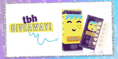 Stick It to Your Insecurities with TBH Kids Pimple Patches + GIVEAWAY!