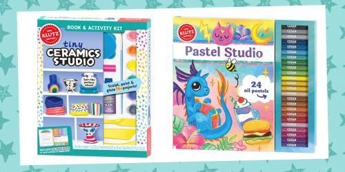 Make Mini Masterpieces With These Art Class Inspired Klutz Kits + GIVEAWAY!