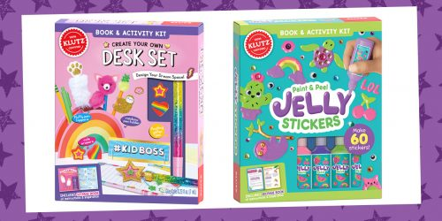 Empower Your Creativity This School Year with These Klutz Kits + GIVEAWAY!