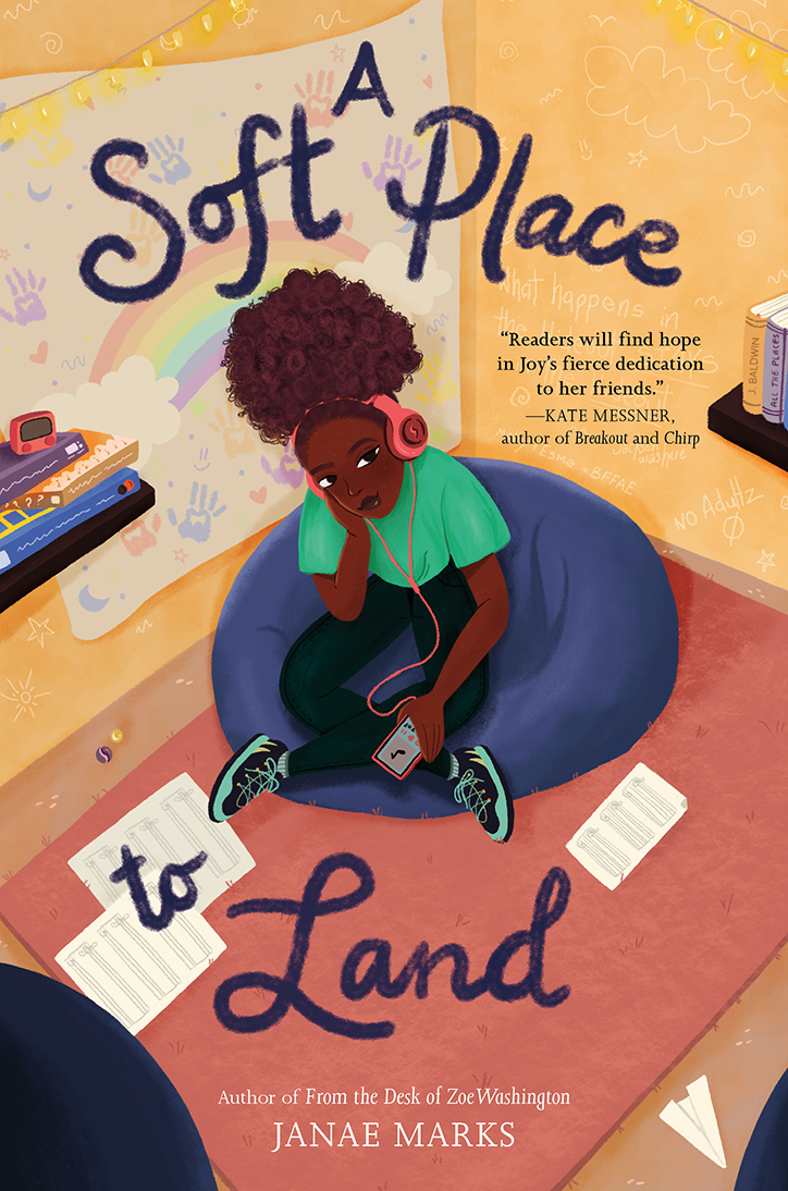Book Cover for A Soft Place to Land by Janae Marks