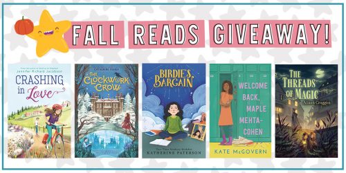Fill Your TBR With These Fab Fall Reads + GIVEAWAY!