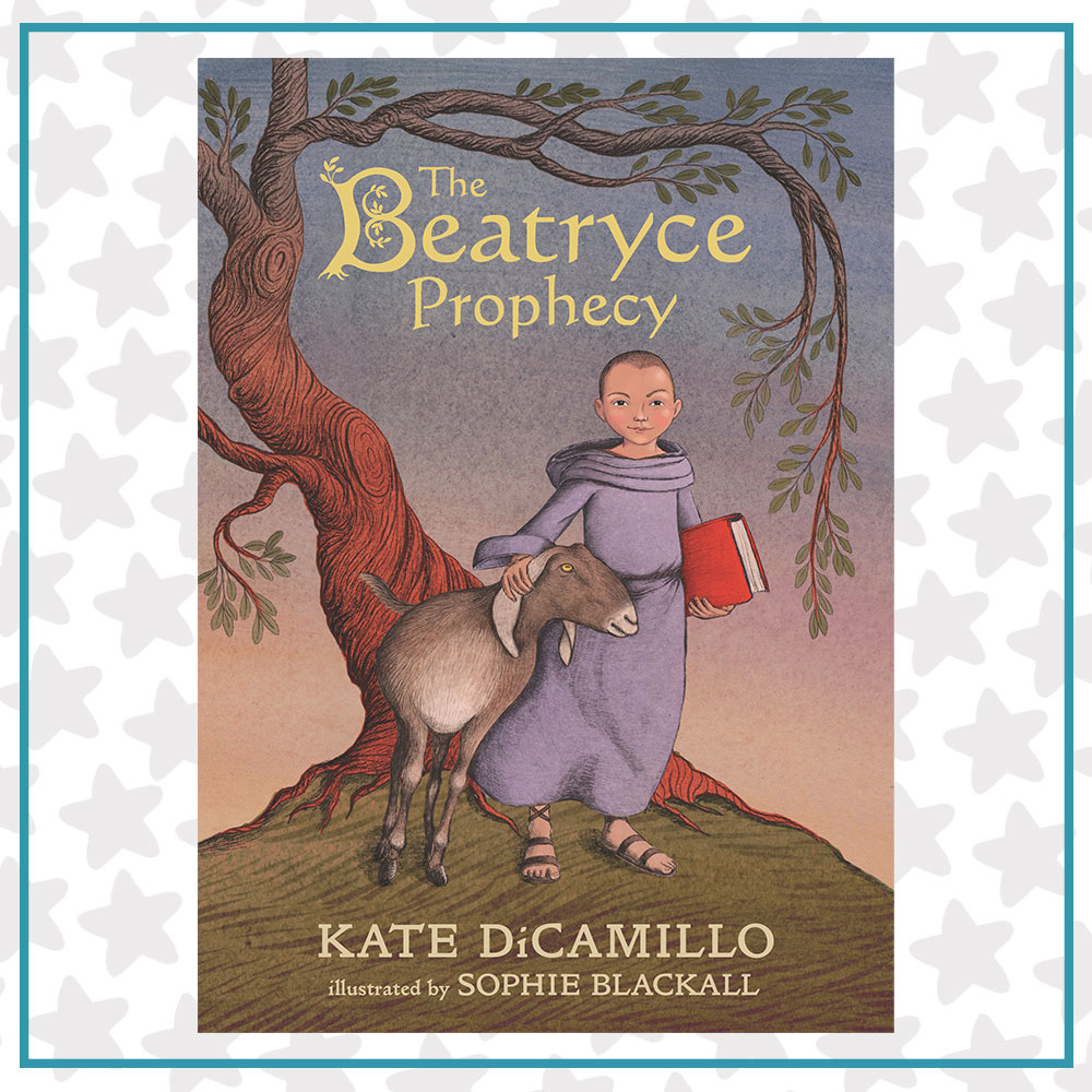 Book cover for The Beatryce Prophecy by Kate DiCamillo