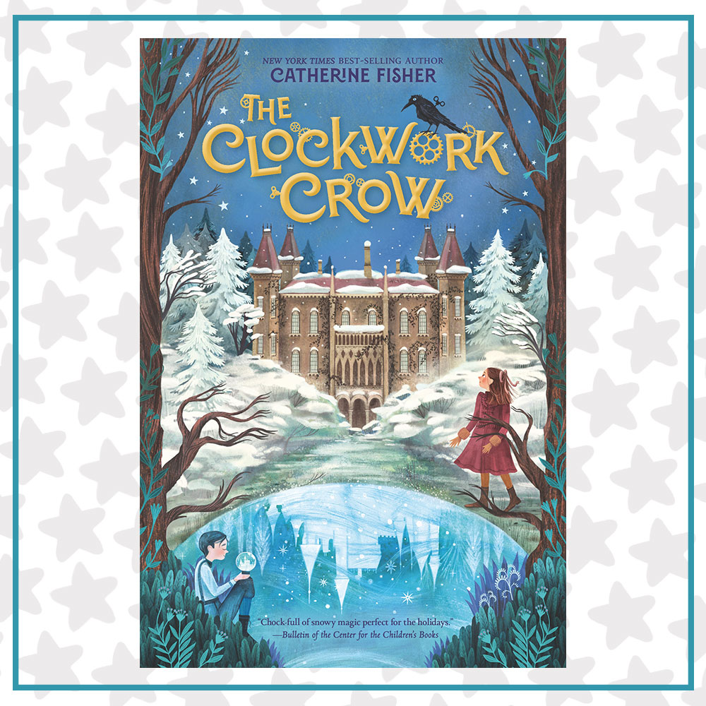 Book cover for The Clockwork Crow by Catherine Fisher