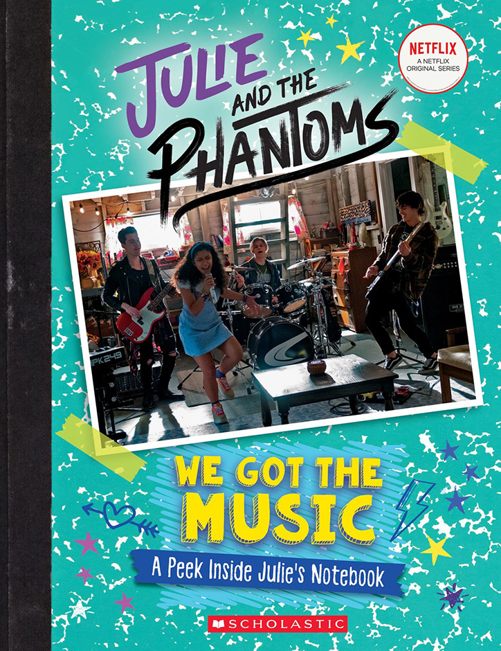 Book Cover for Julie and the Phantoms: We Got the Music