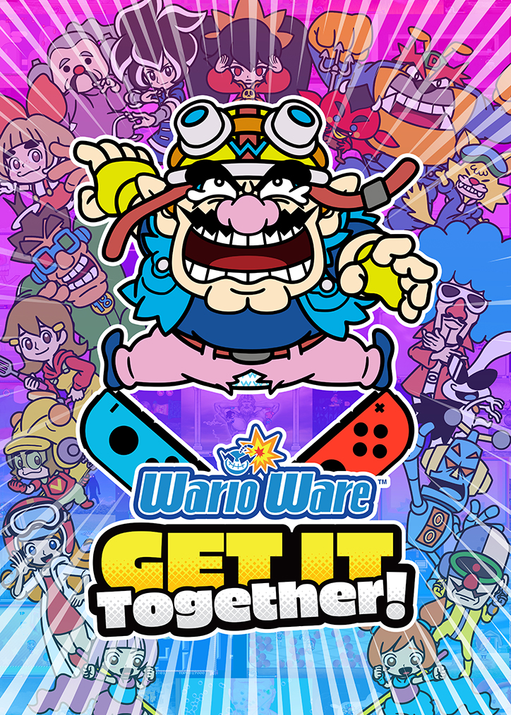 Box art for WarioWare: Get it Together on Nintendo Switch