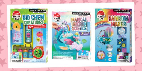 Experiment With Colorful Science With These Klutz Kits + GIVEAWAY!
