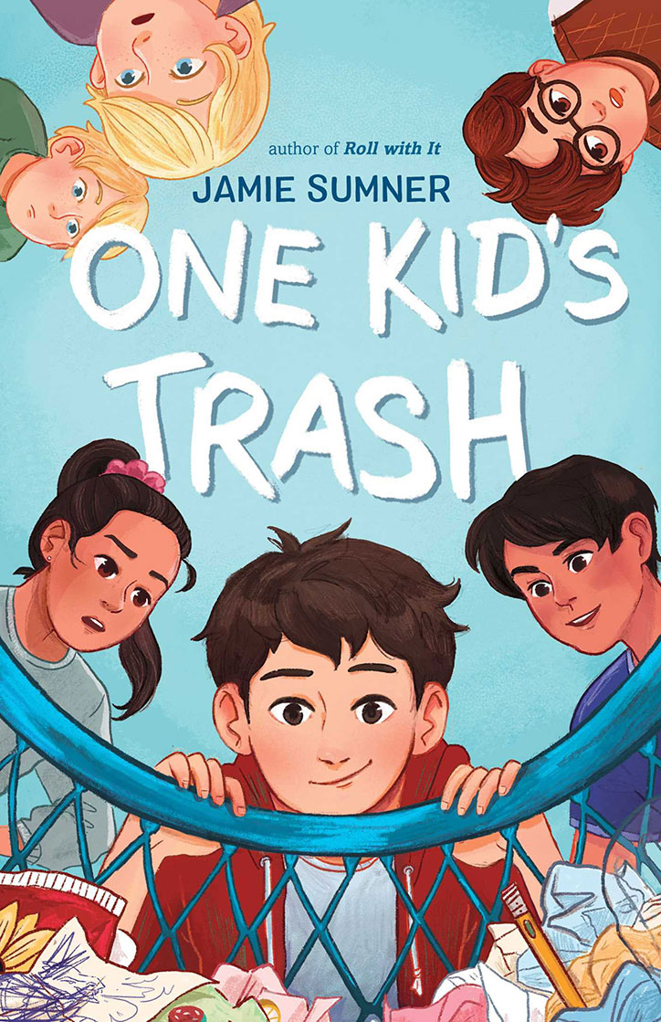 Book Cover for One Kid's Trash by Jamie Sumner