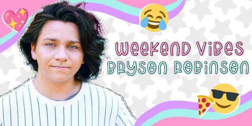 WEEKEND VIBES: Bryson Robinson Dishes on a Weekend Filled With Roller Coasters & '80s Movie Icons