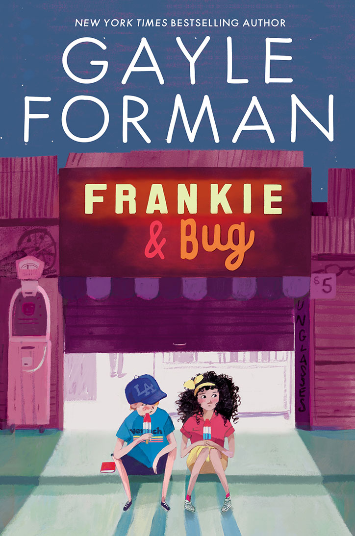 Book cover for Frankie & Bug by Gayle Forman