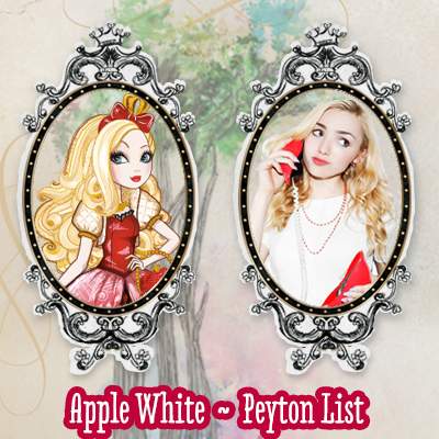 Apple White and Peyton List