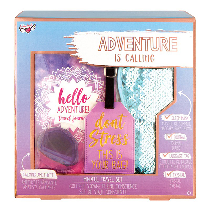 Adventure is Calling Mindful Travel Set from Fashion Angels