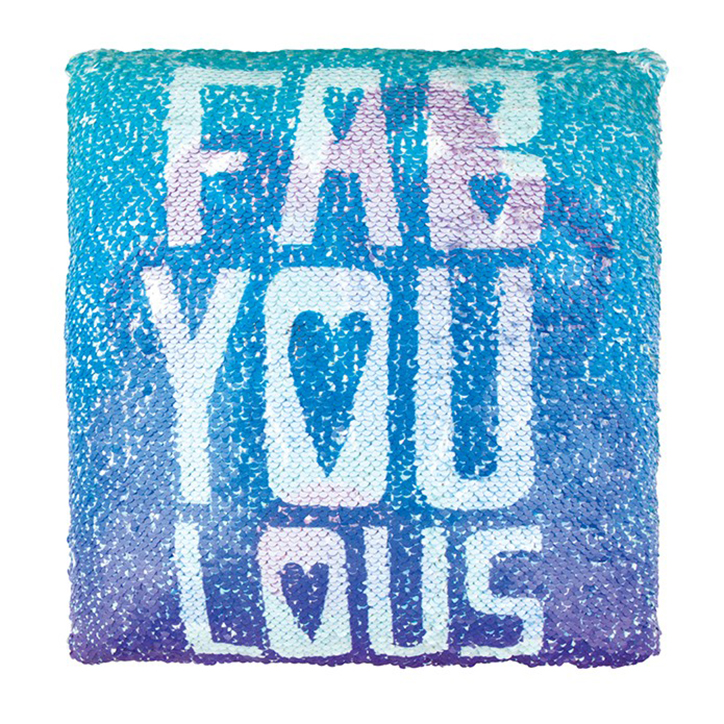Magic Sequin Reveal Pillow - Fab You Lous from Fashion Angels