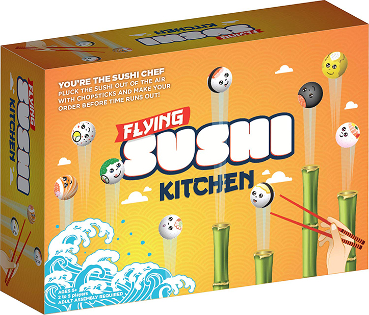 Flying Sushi Kitchen Game from Redwood Ventures