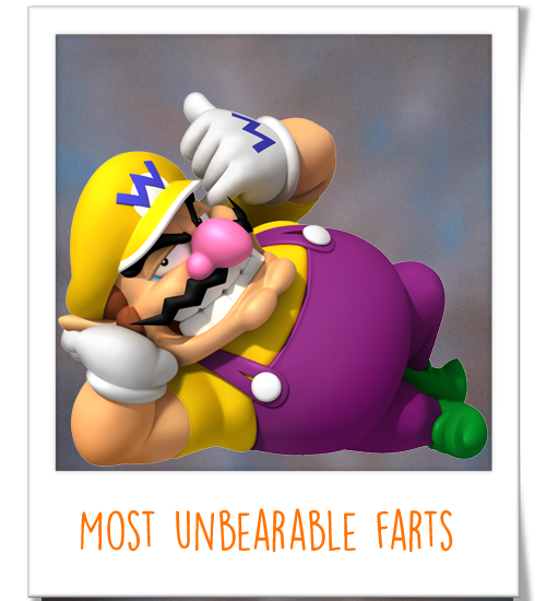 Wario - Most Unbearable Farts