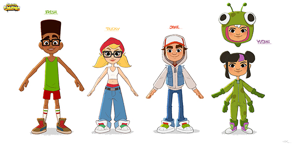 Subway Surfers Animated Series